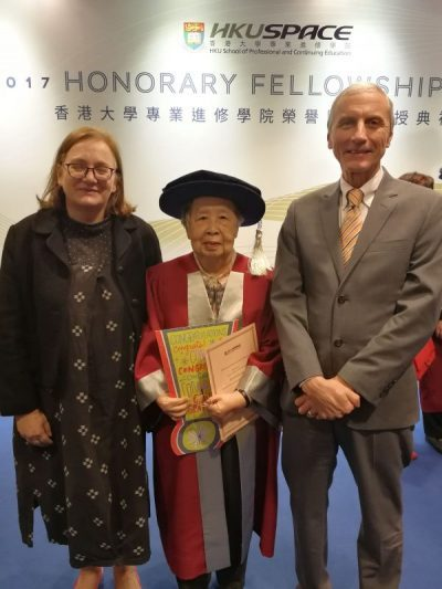 Celebrating an HKLA Honorary Fellow : Dr Kan Lai-bing